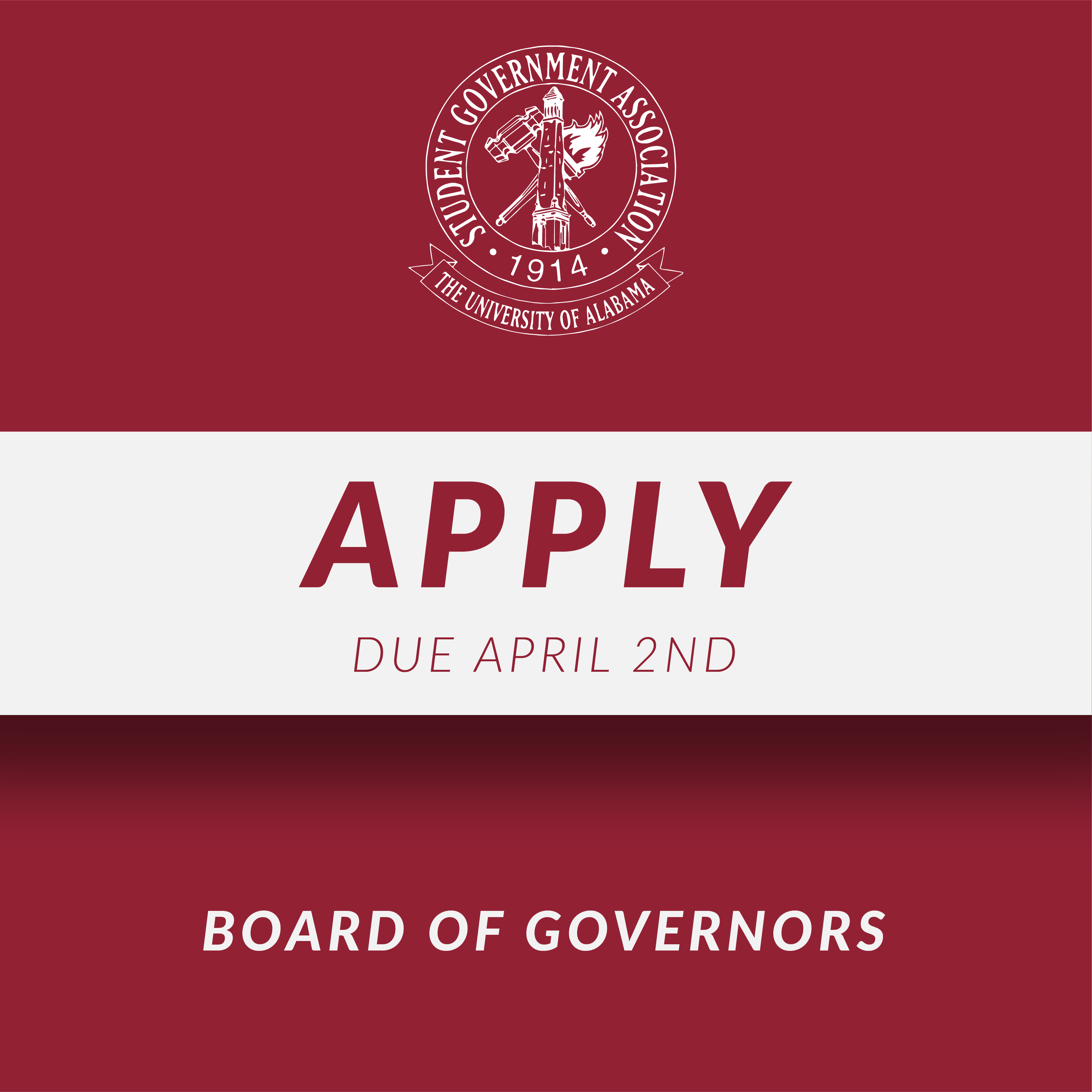 Board of Governors Application