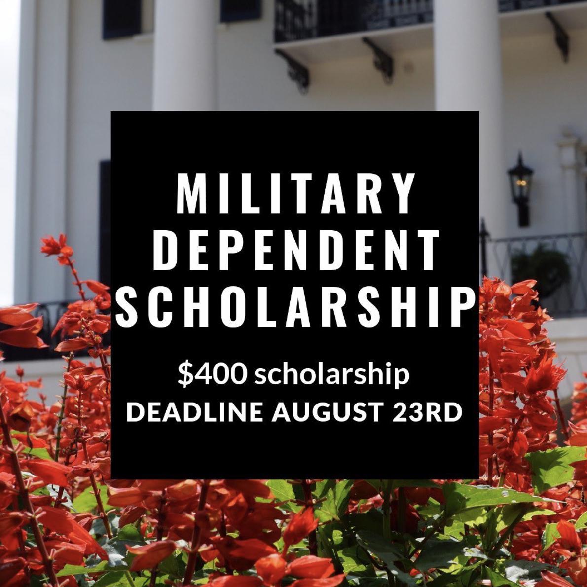 Military Dependent Scholarship
